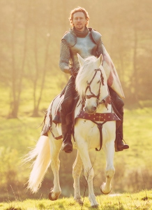 prince on horse