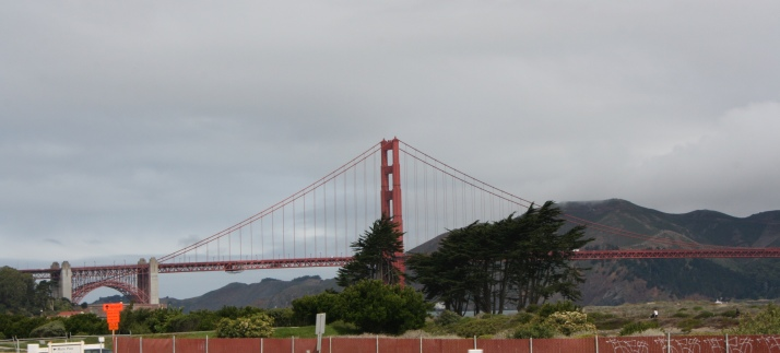 I have a picture of the Golden Gate Bridge on my Discover Card, so I get to see it often.